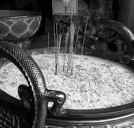 Reisefotografie: Buddha Tooth Relic Temple, Singapore. Nikon D200. Nikkor 16-85 mm. Foto: Dr. Klaus Schoerner