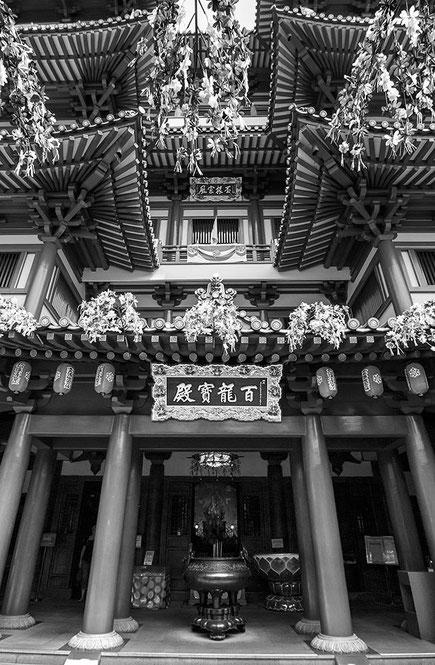 Reisefotografie: Buddha Tooth Relic Temple, Singapore. Nikon D200. Tokina 12-24 mm. Foto: Dr. Klaus Schoerner