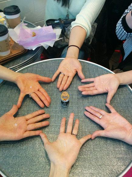 日本音叉ヒーリング研究会onsalaboの音叉ヒーリング講座の生徒さんの移住のお見送り
