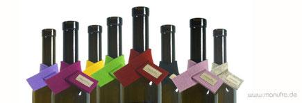 manufra Weinmanschetten bunt