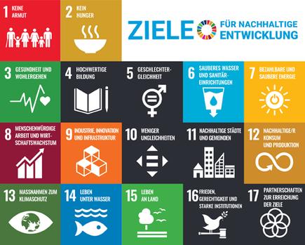 Die 17 Nachhaltigkeitsziele der Vereinten Nationen zur Bioökonomie