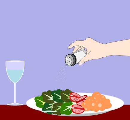 Der richtige Umgang mit Salz - auf die Menge achten!