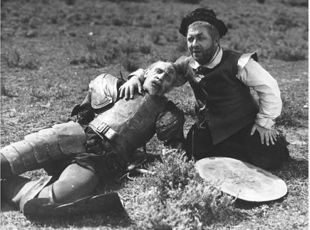 Das legendäre dänische Duo Pat und Patachon. Pressefoto: Dänisches Filminstitut DFI, Kopenhagen