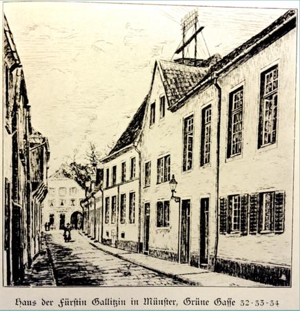 Zeichnung Johannes Rödiger - ULB Münster