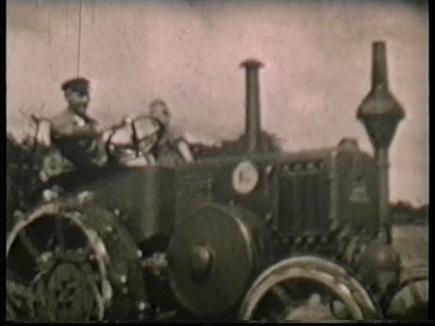 Auf unserem Familienbetrieb war 1936 dieser Lanz Bulldog der erste Schlepper in der Region.