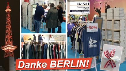 freudensprung fashion vom 8. bis 12. November auf dem Bazaar Berlin