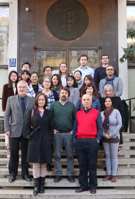 Picture of the participants of the Winter School on Cognitive Science in 2018