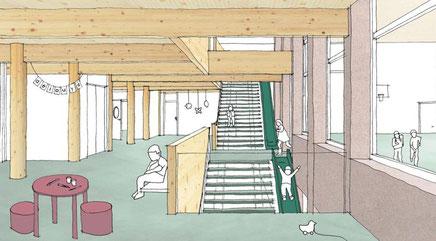 Wettbewerb Zentrum Zahnmedizin Universität Zürich Andreas Kohne