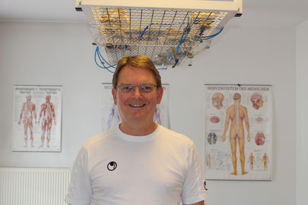 Physiotherapeut Rüdiger Freitag