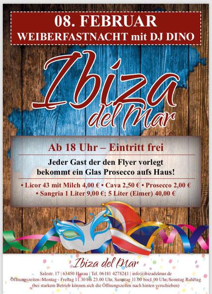 Ibiza del Mar Party mit DJ Dino aus Frankfurt