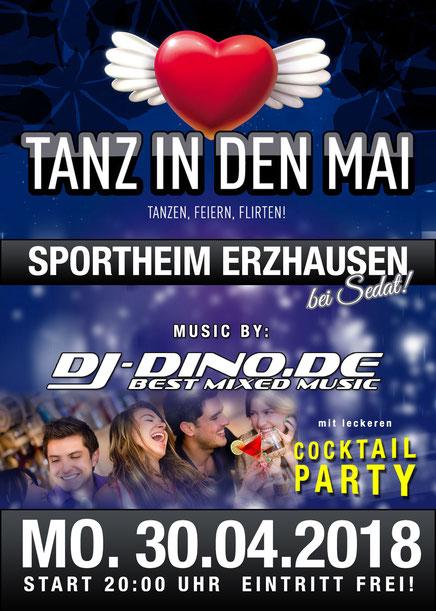Tanz in den Mai mit DJ Dino aus Frankfurt