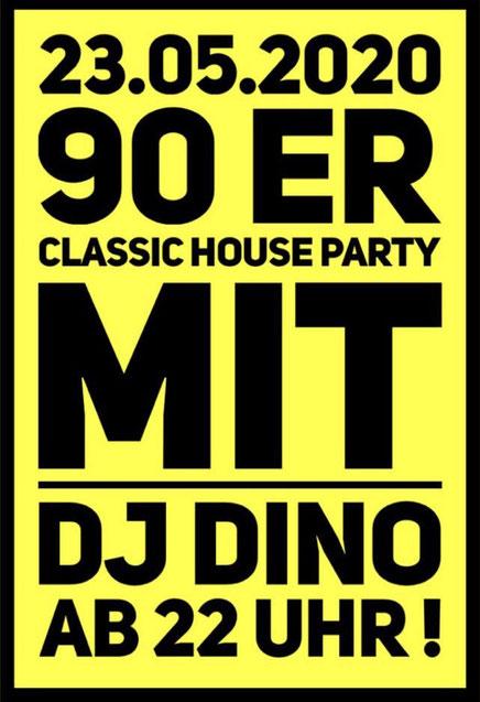 Finest House Classics 90er  mit DJ Dino aus Frankfurt