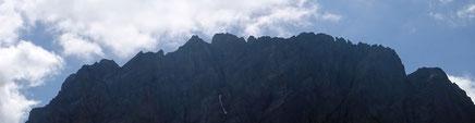 der Gipfel der Grossen Windgällen - nichts für Wanderer