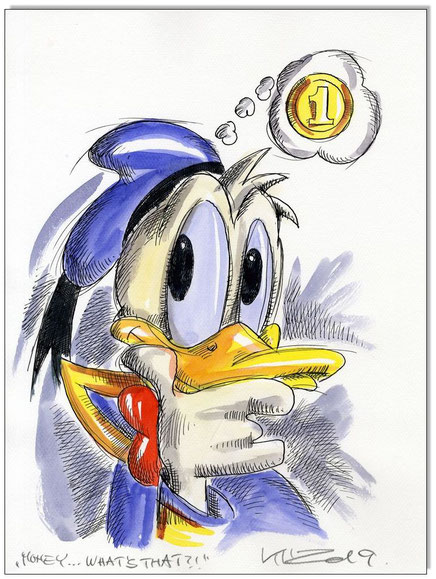 Donald Duck in Rage VI