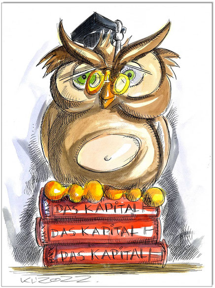 Büchereule Marx Das Kapital
