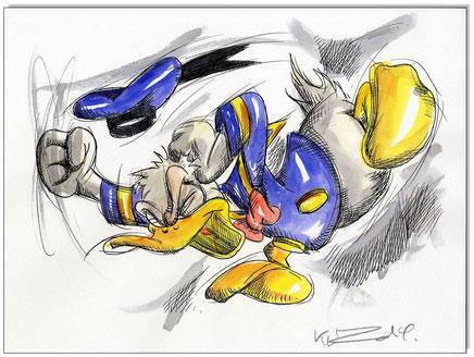 Donald Duck in Rage VII