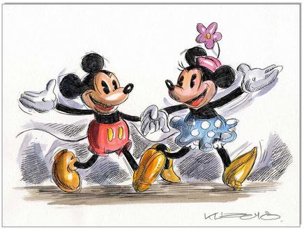 Mickey & Minnie in love IV