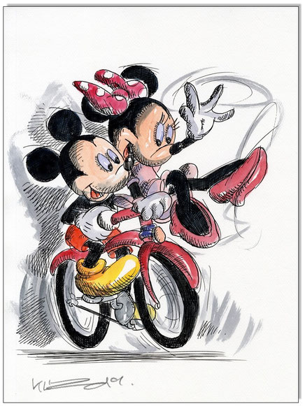 Mickey & Minnie: Un amour à Paris