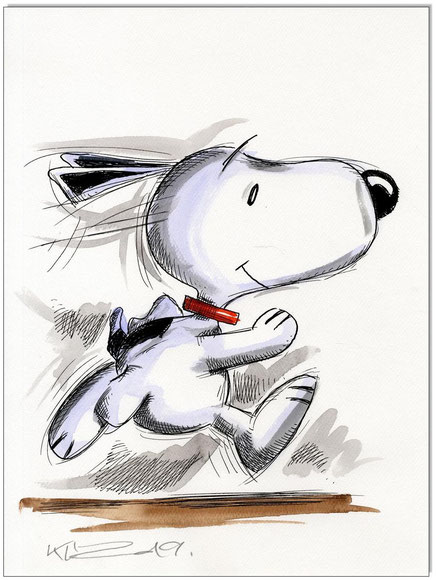 Running Snoopy III