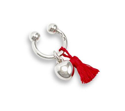 Silber Schlüsselanhänger Herz