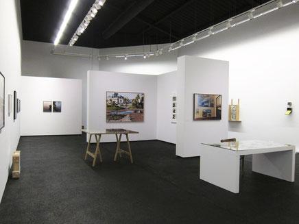 """Claire Tenu, exposition """"Tamis lyrique"""" au Centre d'art Le Point du Jour à Cherbourg, 2016 2017"""