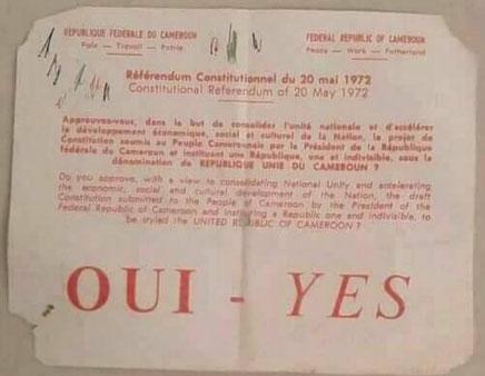 Le Cameroun en 1972 - Osidimbea La Mémoire du Cameroun ...