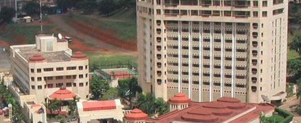 L'hotel Hilton sur le boulevard du 20 mai à Yaoundé
