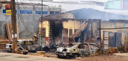 Destruction, pillage et vandalisme à Bamenda