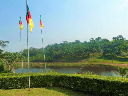 Makak : Le lac Lep Pia dans le village Ekoadjom