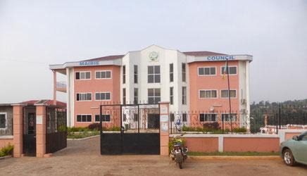 Hotel de ville de Bafoussam 3è réceptionné en février 2021