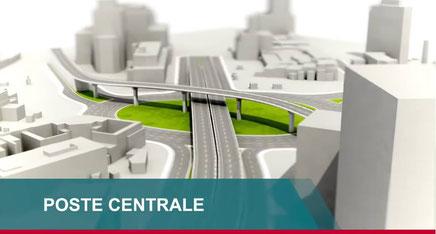 Autoroute Yaoundé-Nsimalen. Projet de la future place de la Poste centrale