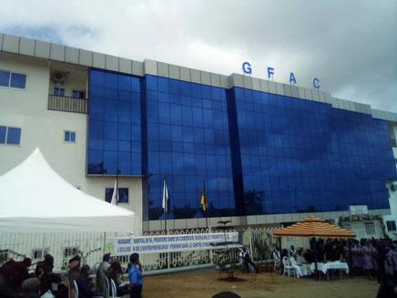 Immeuble siège du GFAC à Yaoundé, inauguré en 2020