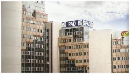 Le siège du PAD, Immeuble du Centre des affaires maritimes à Bonanjo-Douala