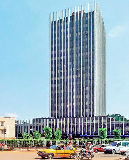 Immeuble siège de la SNI, Yaoundé