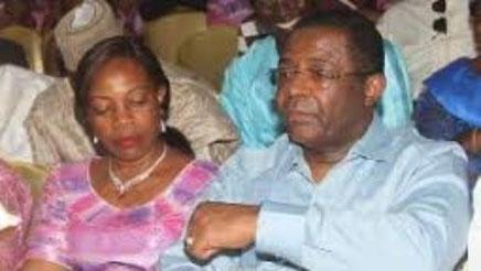 Edgar Alain et Bernadette Mebe Ngo'o