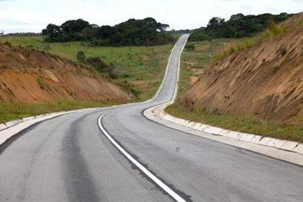 Un tronçon du corridor Yaoundé-Brazzaville
