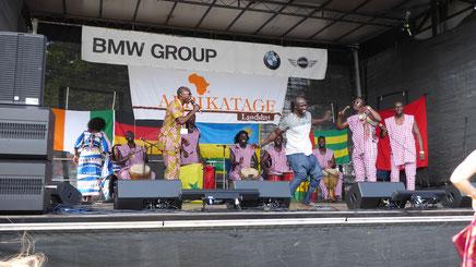 Bei den Afrika-Tagen Landshut 2018
