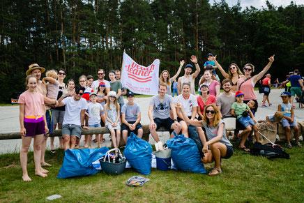 Beach Clean up Rothsee  - July  2020