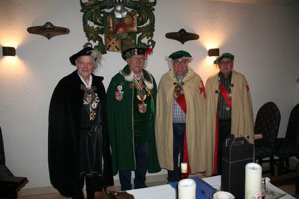 Kunibert v.Landegg, Hans v. Langennegg, Gunther H.a.Kamegg, Raimund H.a.Buchberg