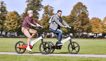 GoCycle e-Bikes und Pedelecs in der e-motion e-Bike Welt in Lübeck