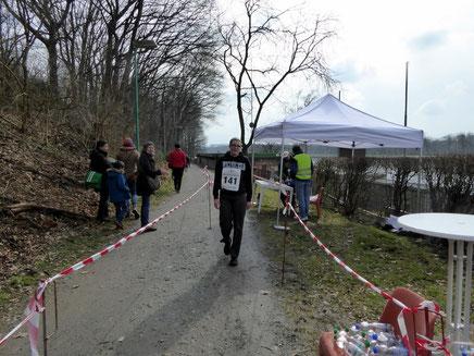 Siegerin über 5.000 m: Sandy Hausmann