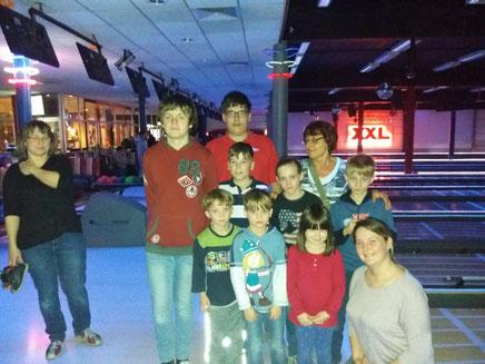 16. März 2019, FWF-Jugend zum Bowling bei XXL