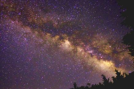 夢の中の星空