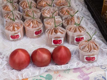 第4回北本とまと祭り〜トマトのカップケーキ, ピカピカトマトソーダ