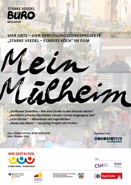 Plakat »Mein Mülheim« Filmreihe