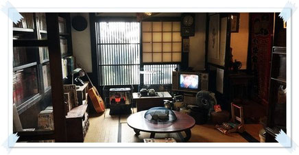 氷見昭和館 昭和体感コーナー 1F南側展示コーナー 古民家