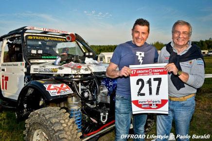 Marco Sparpaglione e Moreno Segat cat. Trophy