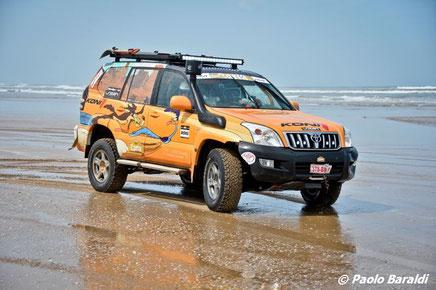 Toyota 120 preparato raid da Eurojapan