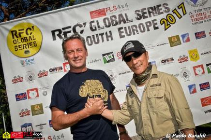 Gilles Girousse e Luis Wee