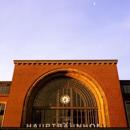 Abschied in Kiel, Hauptbahnhof